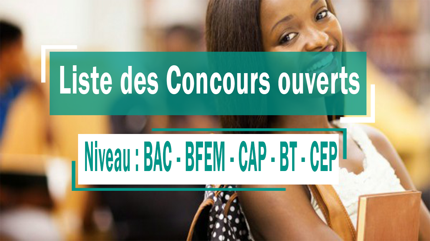 CONCOURS OUVERTS