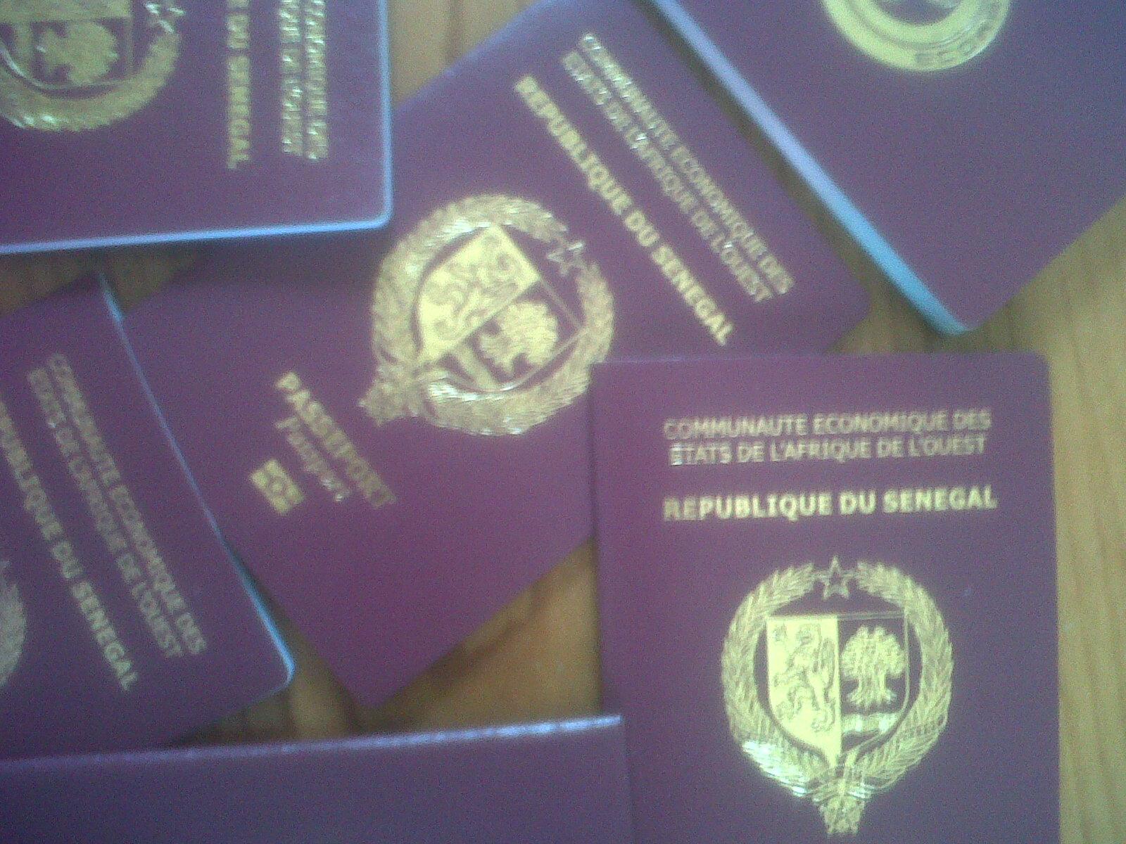 Procédure pour la demande de passeport au sénégal groupe info etudes