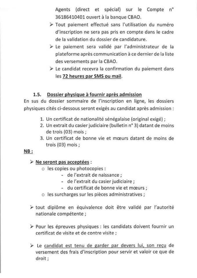 IMG 2398 Concours police 2021 - 1250 postes à pourvoir
