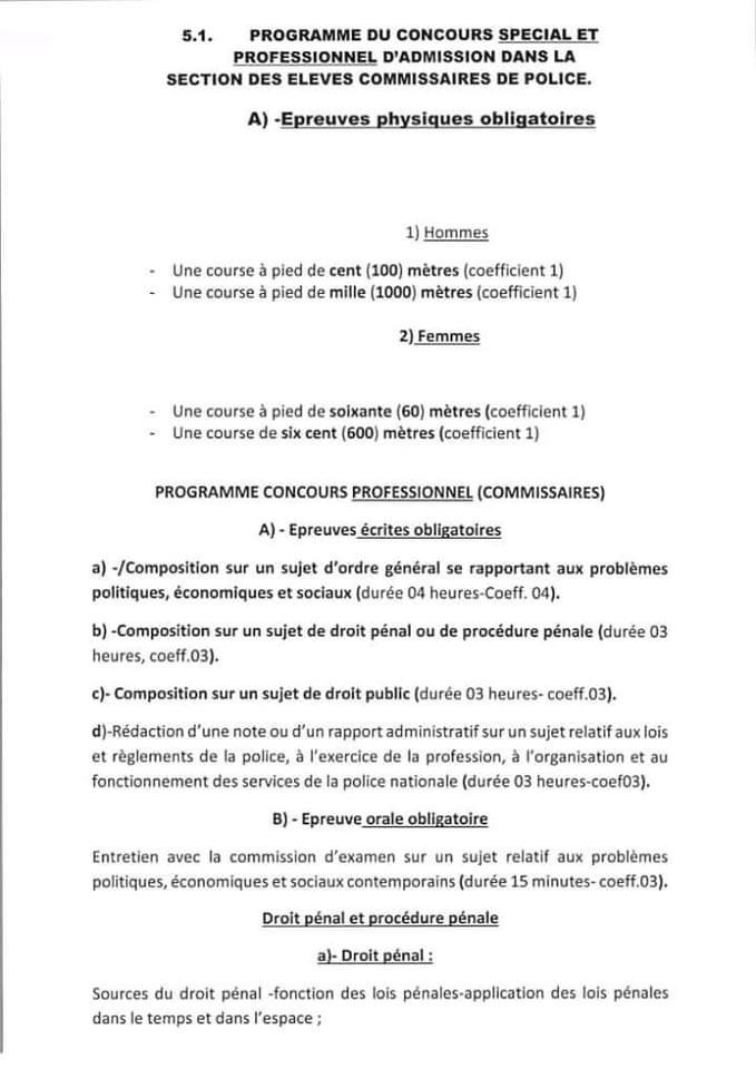 IMG 2401 Concours police 2021 - 1250 postes à pourvoir