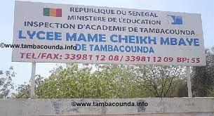 Lycée Mame Cheikh Mbaye de Tamba : Les bâtiments menacent de s'effondre
